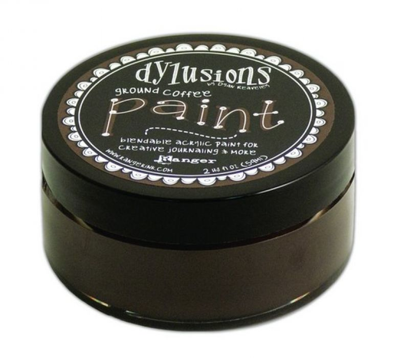Ranger Dylusions Paint 59 ml - ground coffee DYP52722