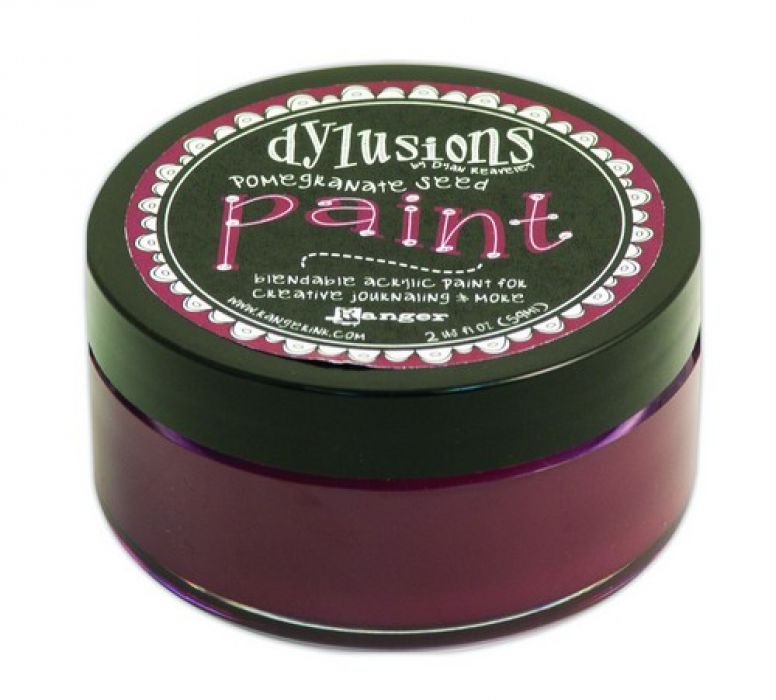 Ranger Dylusions Paint 59 ml - pomegranate seed DYP51350