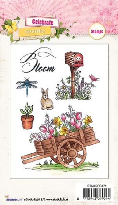 Studio Light Clearstempel A6 Celebrate Spring nr 171 STAMPCS171