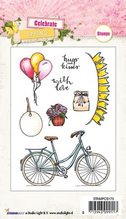 Studio Light Clearstempel A6 Celebrate Spring nr 173 STAMPCS173