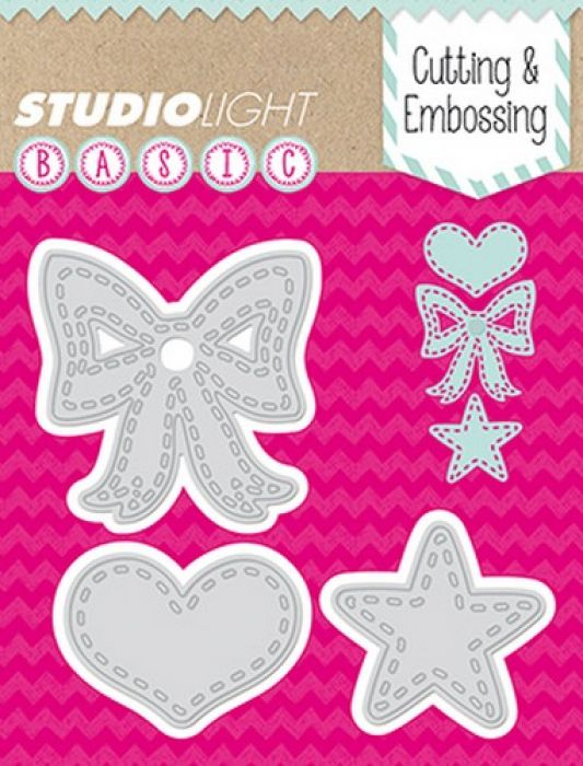 Studio Light Embossing Die Cut Stencil nr 28 STENCILSL28 (