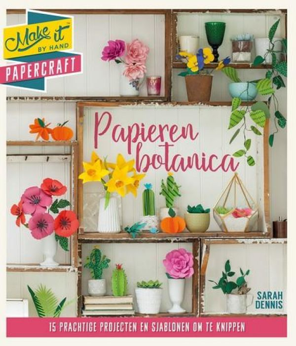 BBNC boek - Make it: Papieren botanica Dennis