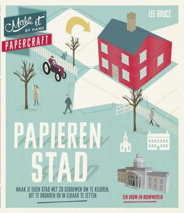 BBNC boek - Make it: Papieren stad Bruce