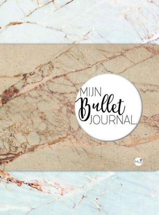BBNC - Mijn bullet journal - marmer -tnl
