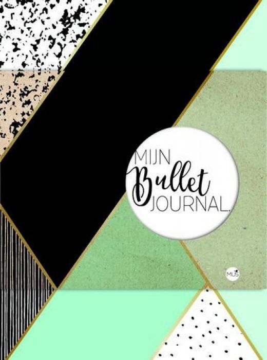 BBNC - Mijn bullet journal - mint & goud -tnl