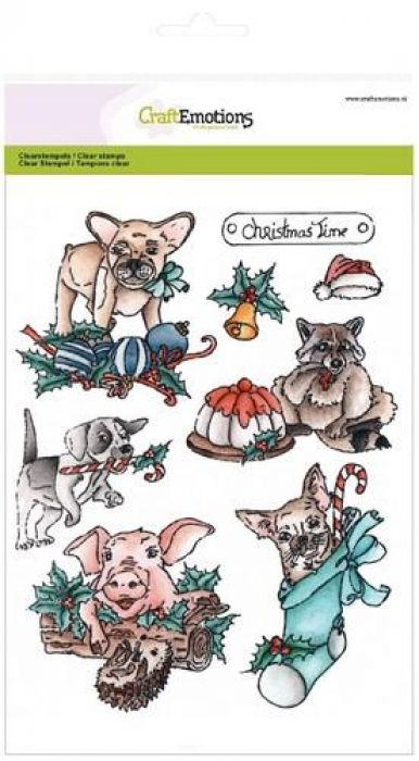 clearstamps A5 - Christmas pets 1