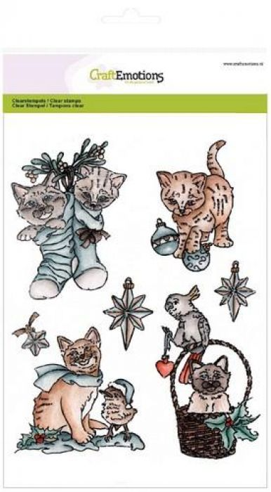 clearstamps A5 - Christmas pets 2
