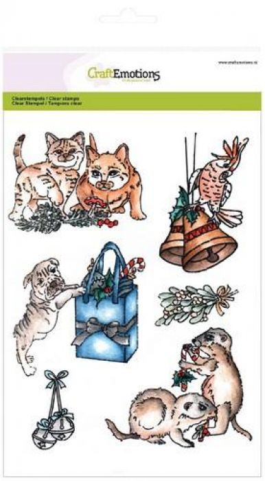 clearstamps A5 - Christmas pets 3