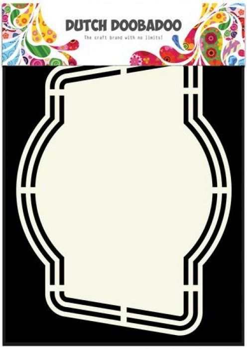 Dutch Doobadoo Dutch Shape Art label 4 A5 470.713.152