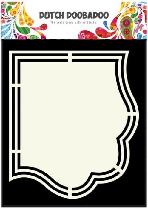 Dutch Doobadoo Dutch Shape Art Ornament A5 470.713.154