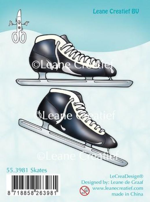 LeCrea - Clear stamp Figure skates 55.3998