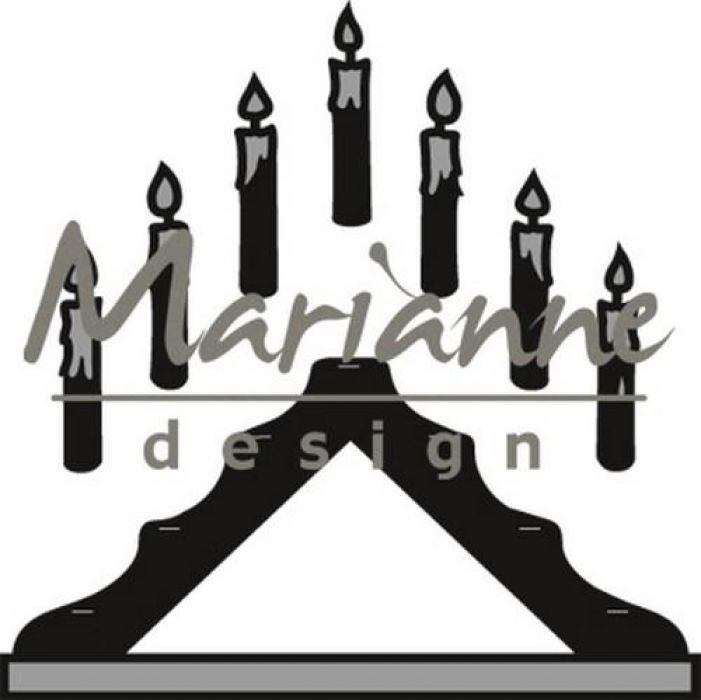 Marianne D Craftable Candle bridge CR1427