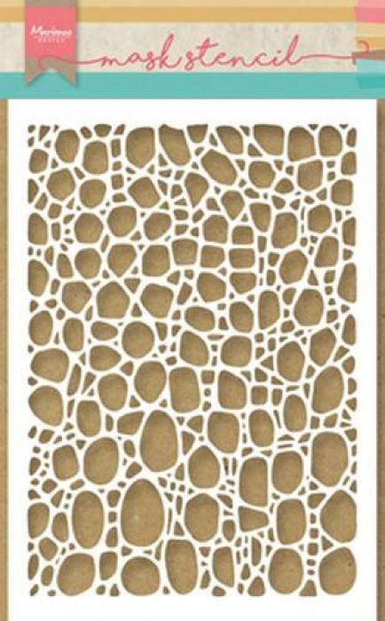 Marianne D Mask stencils Tiny`s cobble stone PS8001