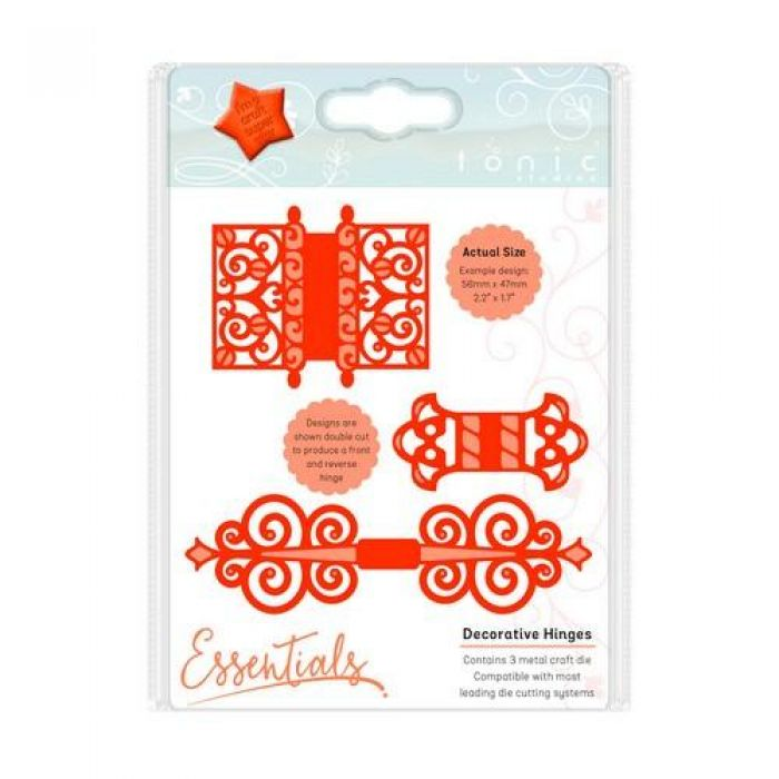 Tonic Studios Die - My Moments - decorative hinges 714E