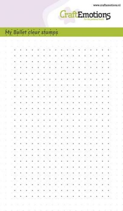clearstamps A6 - Bullet Journal -bullet dots