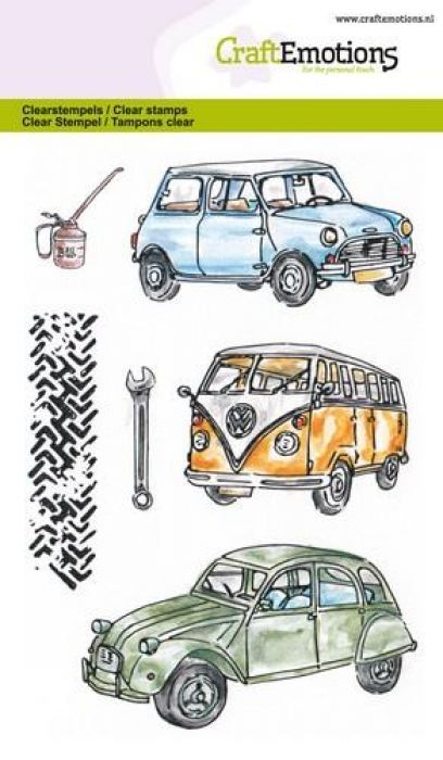clearstamps A6 - Classic Cars