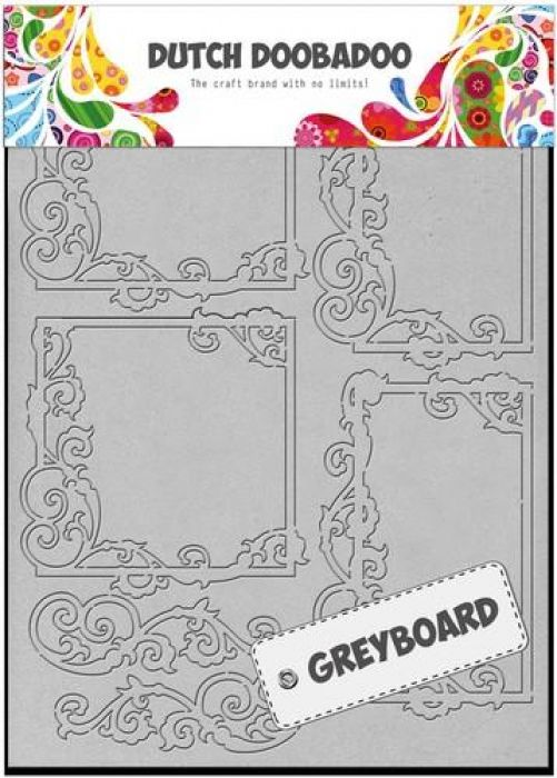 Dutch Doobadoo Dutch Greyboard Frames vierkant A5 492500002