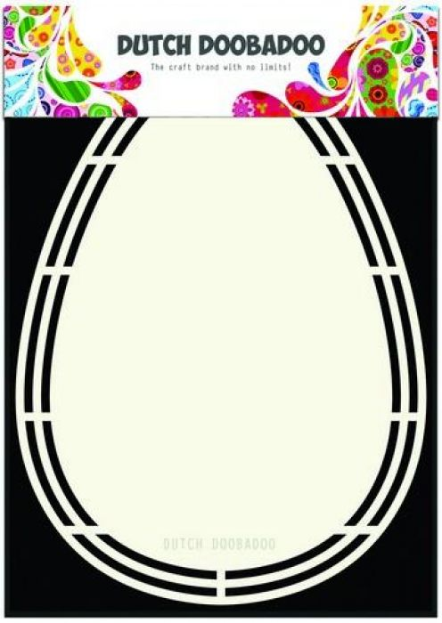 Dutch Doobadoo Dutch Shape Art paasei 470.713.161 A5