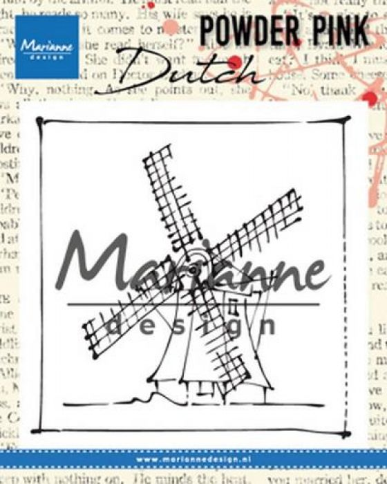 Marianne D Clear stamp P. Pink - Molen PP2802 83x84 mm