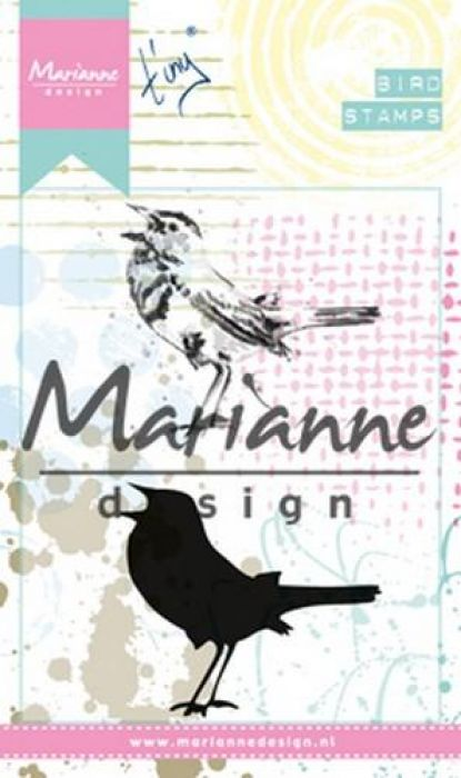Marianne D Cling Stempel Tiny`s Birds 2 MM1619