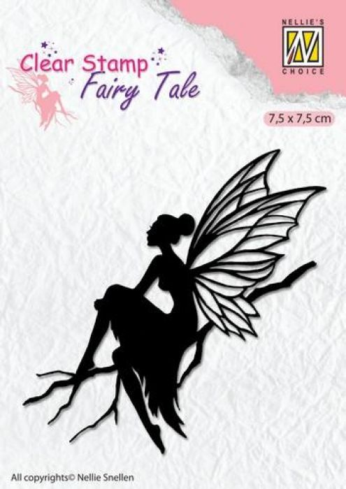 Nellie`s Choice Clearstamp silhouette Fairy Tale Nr 6 FTCS006