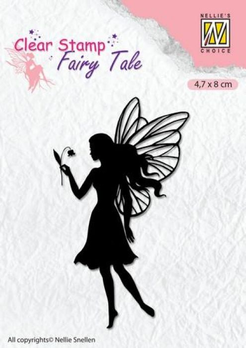 Nellie`s Choice Clearstamp silhouette Fairy Tale Nr 7 FTCS007