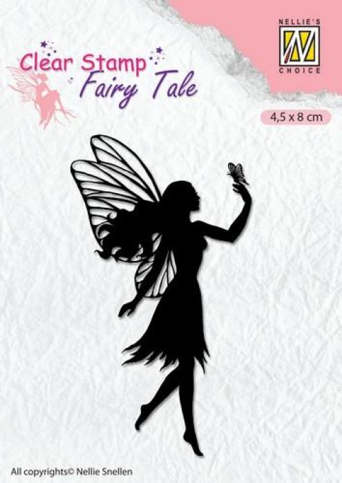 Nellie`s Choice Clearstamp silhouette Fairy Tale Nr 8 FTCS008