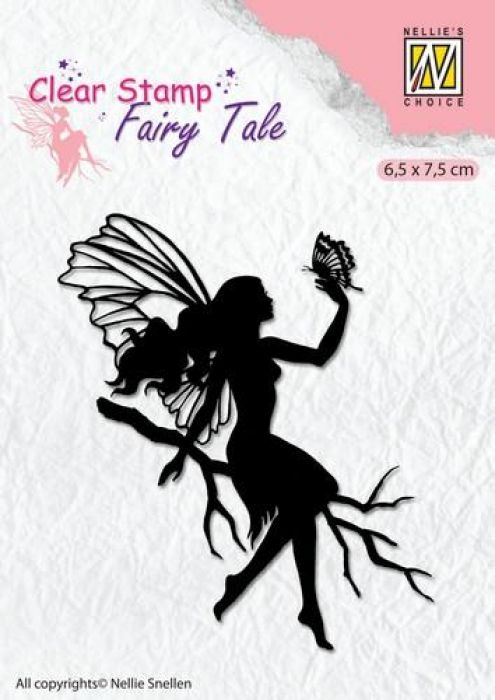 Nellie`s Choice Clearstamp silhouette Fairy Tale Nr 9 FTCS009