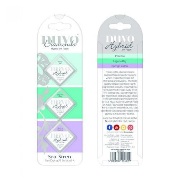 Nuvo Diamond hybrid ink pads - sea siren 81N