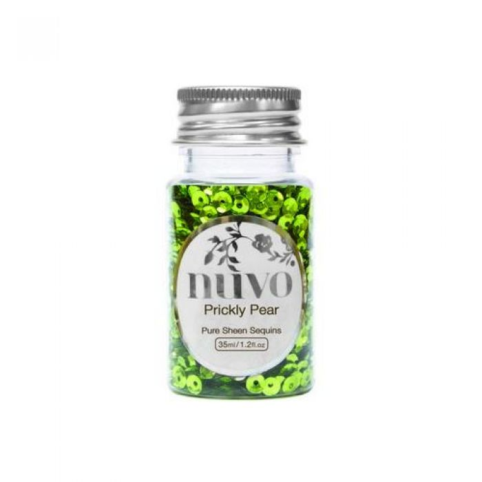Nuvo Sequins - prickly pear 35ml bottle 1140N