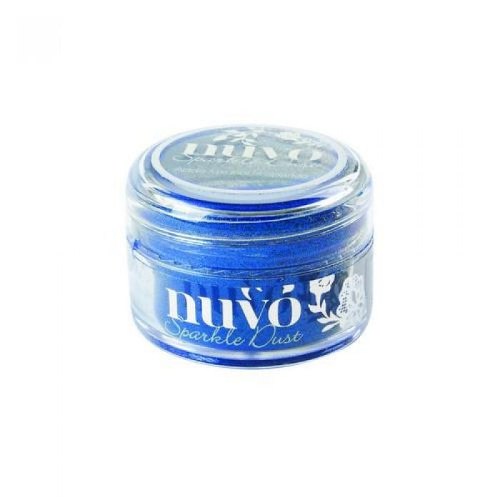 Nuvo Sparkle dust - electric blue 551N