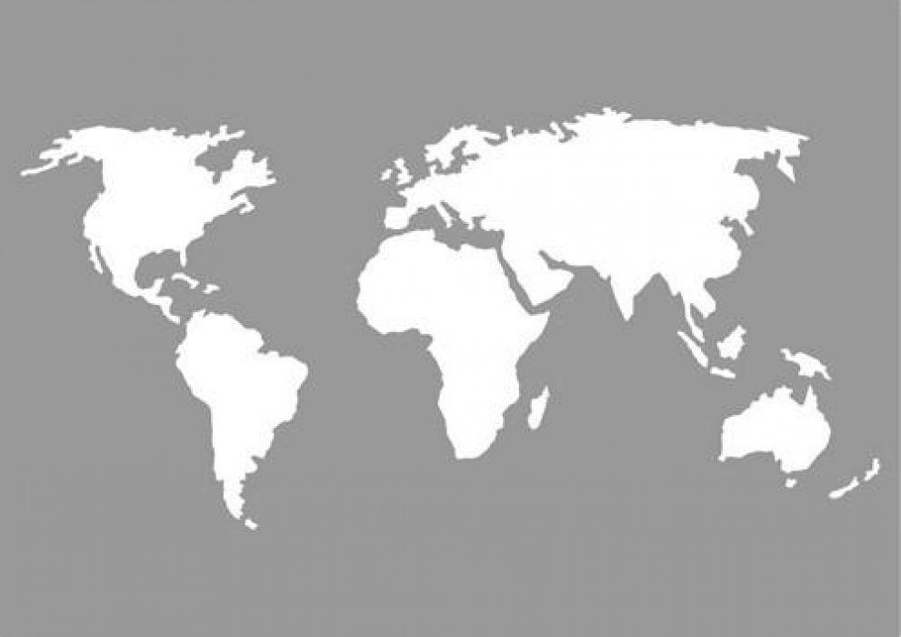 pronty mask stencil world map a5. Black Bedroom Furniture Sets. Home Design Ideas
