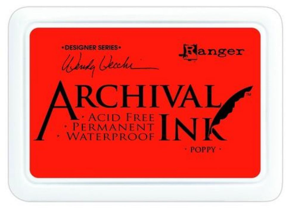 Ranger Archival Ink pad - poppy AID61267