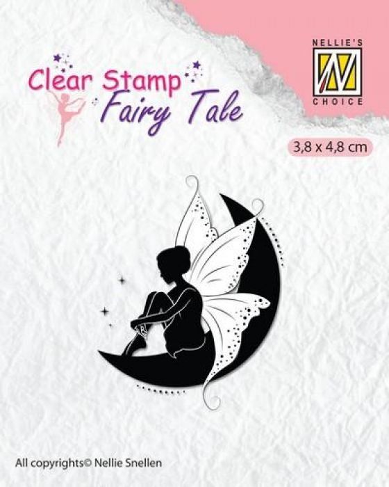 Nellie`s Choice Clearstamp silhouette Fairy Tale Nr 12 FTCS012