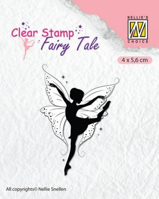 Nellie`s Choice Clearstamp silhouette Fairy Tale Nr 13 FTCS013