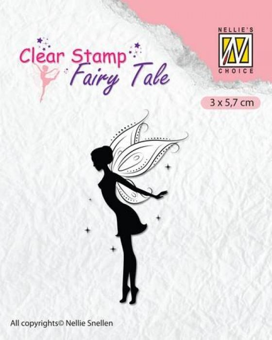 Nellie`s Choice Clearstamp silhouette Fairy Tale Nr 16 FTCS016 (