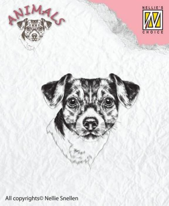 Nellies Choice Clearstempel - hond ANI016 41x40mm