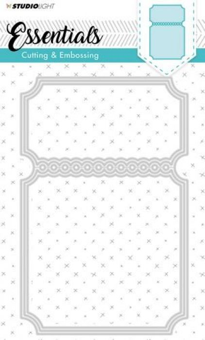 Studio Light Embossing Die Cut Stencil Essentials Nr.116 STENCILSL116