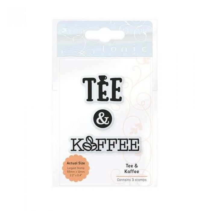 Tonic Studios Ess. Tee & Kaffee (DE) Stamp Set 2200E