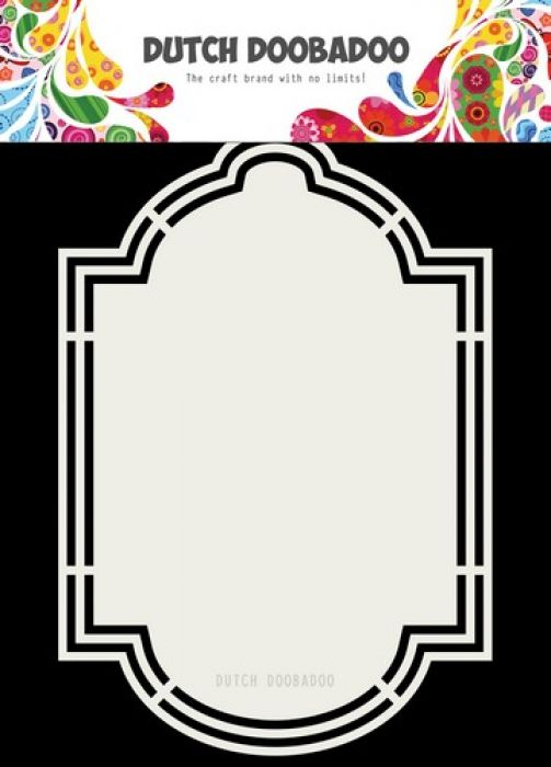 Dutch Doobadoo Dutch Shape Art label 6 A5