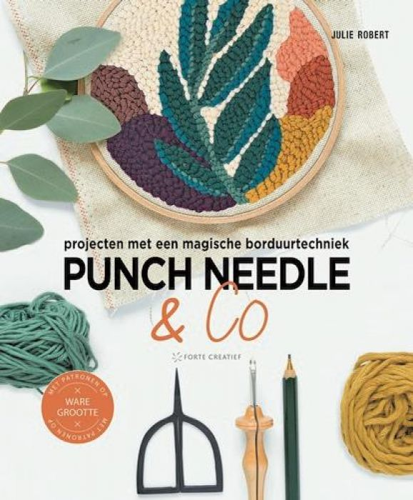 Forte Boek - Punch needle & co Julie Robert