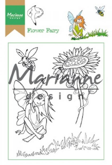 Marianne D Clear Stamp Hetty`s Flower Fairy HT1645 15,5 x 10,5 cm