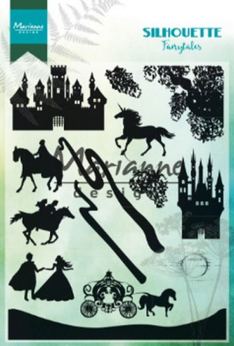 Marianne D Clear Stamps Silhouette Fairytales CS1020 1110x150mm