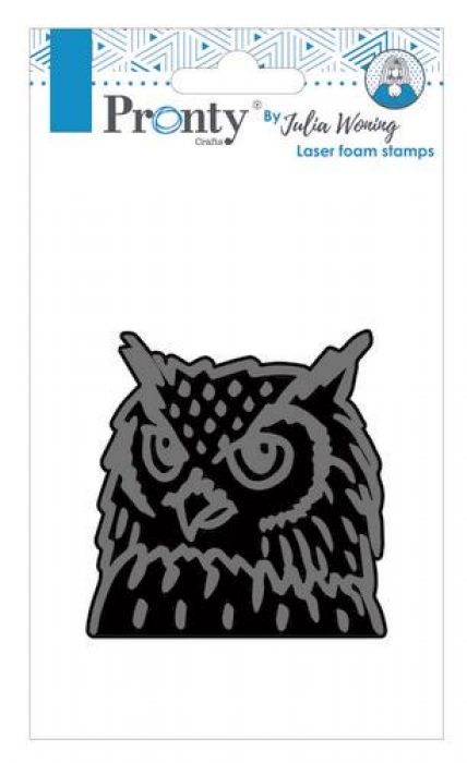 Pronty Foam stamp Owl 494.904.007 Julia Woning