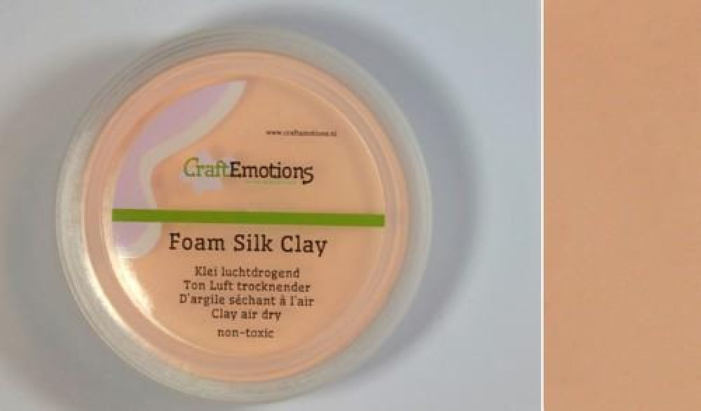 Silk foam clay - huidskleur 28gr Air dry