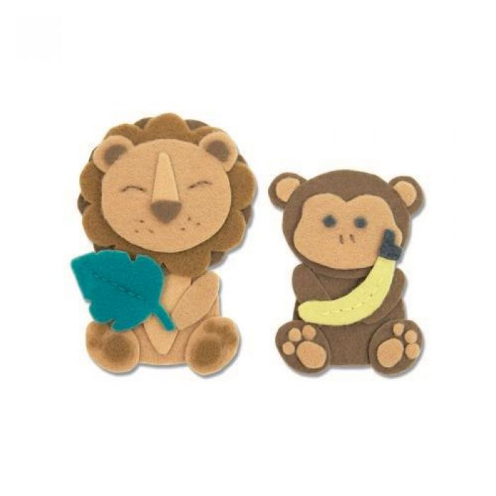 Sizzix Bigz L Die - Jungle Animals 663493