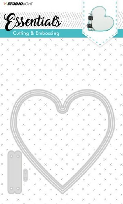 Studio Light Embossing Die Cut Stencil Essentials nr.166 STENCILSL166