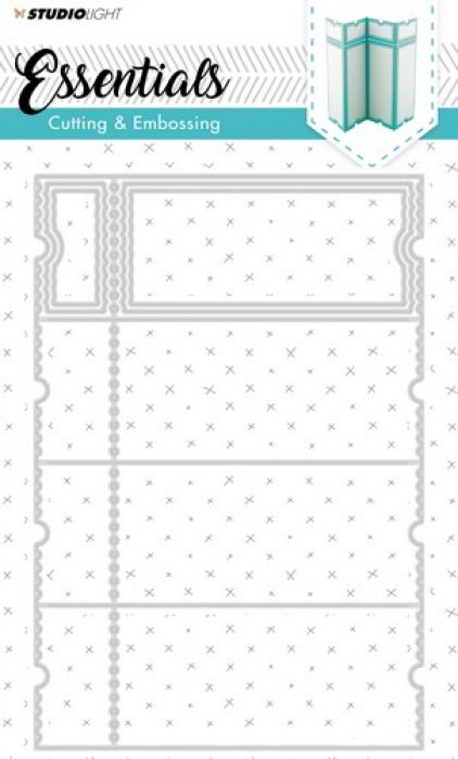 Studio Light Embossing Die Cut Stencil Essentials nr.169 STENCILSL169