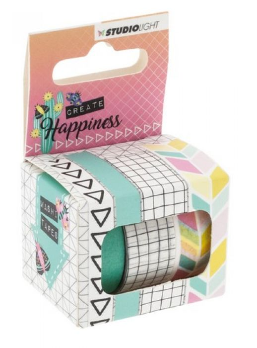 Studio Light Washi Tape Create Happiness nr.01