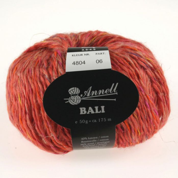 Annell Bali 4804 steen rood